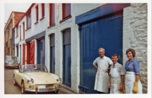 Fiddes Premises 1960 – A Renovated Stable Block –Trade St