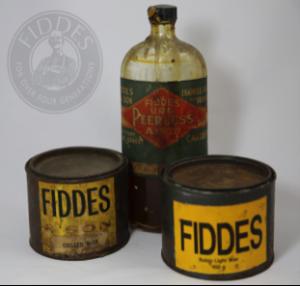 Fiddes Wax polish & Shellac Varnish